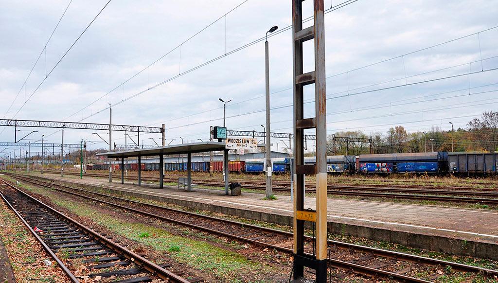 Renovación vías Rybnik – Chalupki