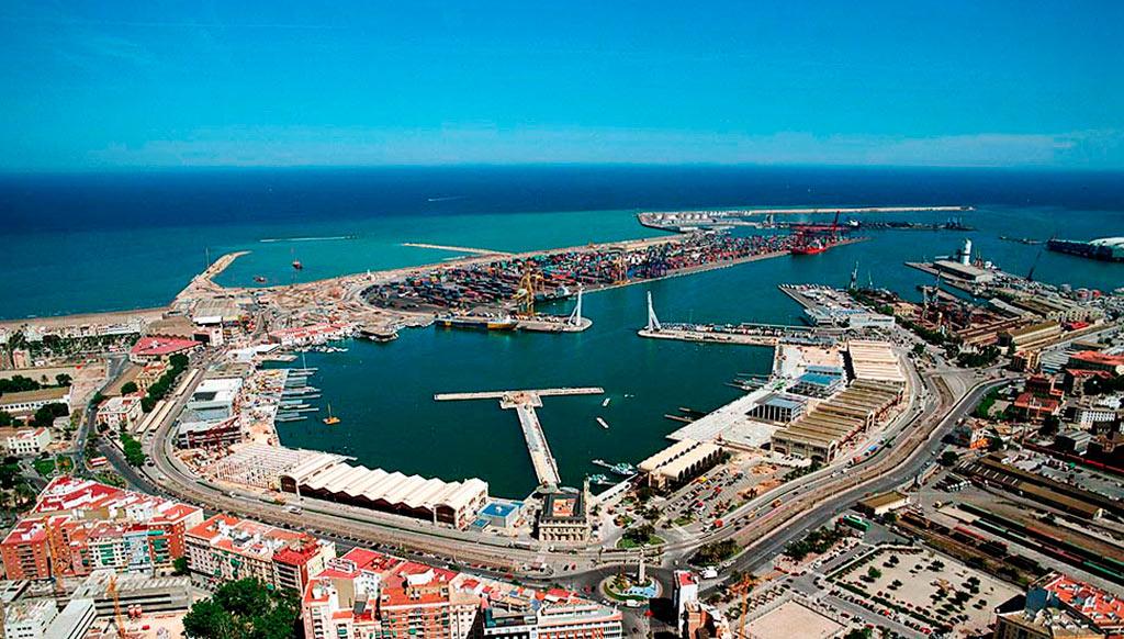 Darsena interior puerto valencia fecoval - Laydown puerto valencia ...