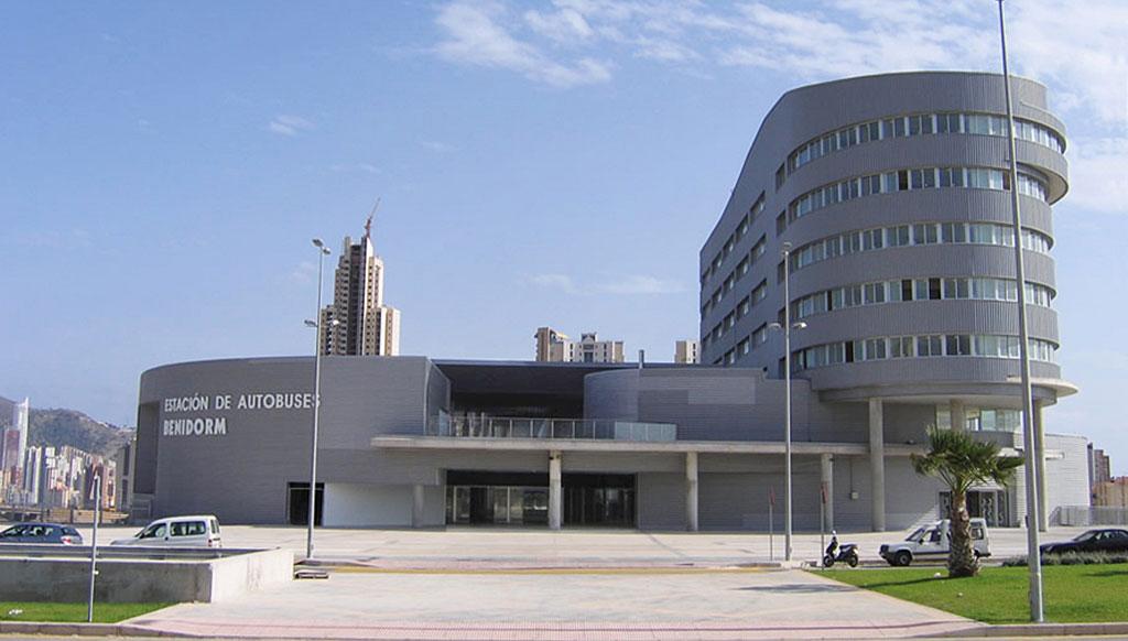 Estación de autobuses Benidorm